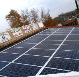 Installed solar panels - 5000 Watts , CA