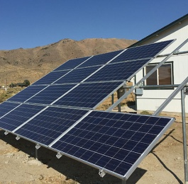 Country side solar installation - 3250 W, Reno, NV